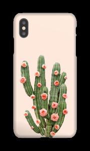 Kukkiva kaktus kuoret IPhone XS Max