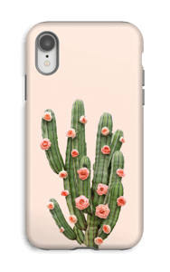 Fleurs de cactus Coque  IPhone XR tough