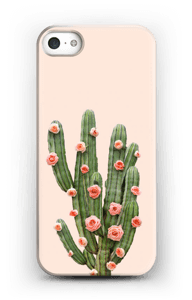 Cactus i blomster cover IPhone 5/5S