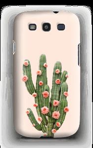 Kukkiva kaktus kuoret Galaxy S3