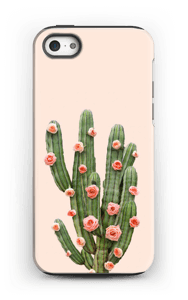 Cactus i blomster cover IPhone 5/5s tough
