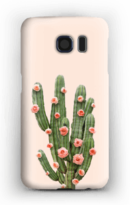 Blumenkaktus Handyhülle Galaxy S6