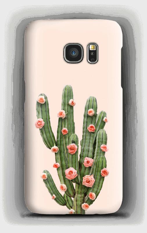 Blumenkaktus Handyhülle Galaxy S7