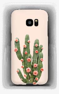 Fleurs de cactus Coque  Galaxy S7 Edge
