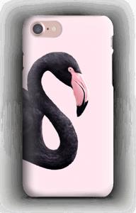 Musta flamingo kuoret IPhone 7