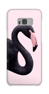 Flamingo i svart skal Galaxy S8 Plus