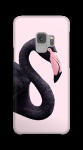 Musta flamingo kuoret Galaxy S9