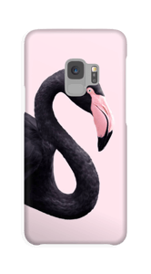 Sort flamingo cover Galaxy S9