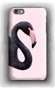 Musta flamingo kuoret IPhone 6s Plus tough
