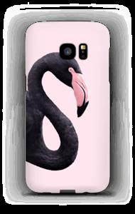 Sort flamingo cover Galaxy S7 Edge