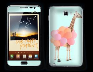 Balon Giraffe Skin Galaxy Note