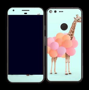 Girafe gonflable Skin Pixel XL