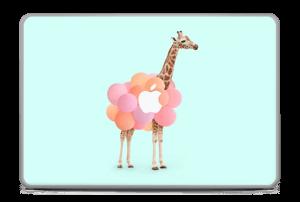 "Girafe gonflable Skin MacBook Pro 17"" -2015"