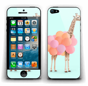 Girafe gonflable Skin IPhone 5