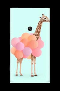 Balon Giraffe Skin Nokia Lumia 920