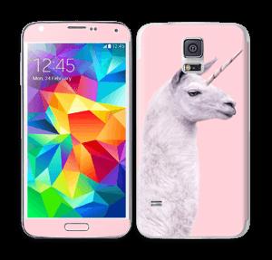 Unicorn Llama Skin Galaxy S5