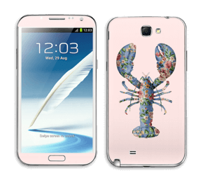 Hummeri tarrakuori Galaxy Note 2