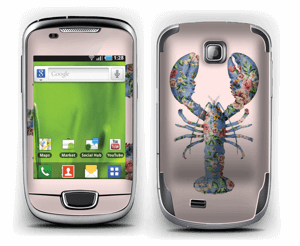Floral Lobster Skin Galaxy Mini