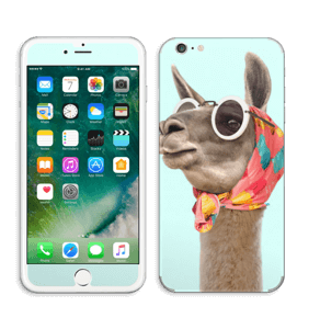 Pokat ja laama  tarrakuori IPhone 6 Plus