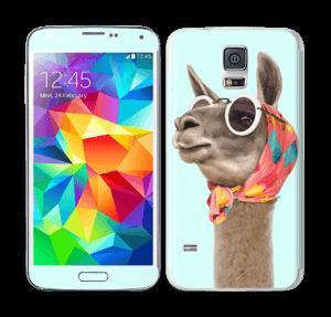 Pokat ja laama  tarrakuori Galaxy S5