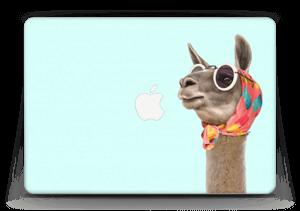 """Pokat ja laama  tarrakuori MacBook Air 13"""""""