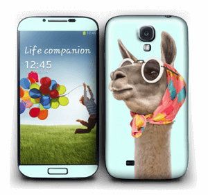 Pokat ja laama  tarrakuori Galaxy S4