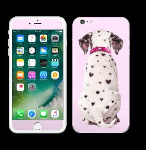 Söpis dalmatialainen tarrakuori IPhone 6 Plus
