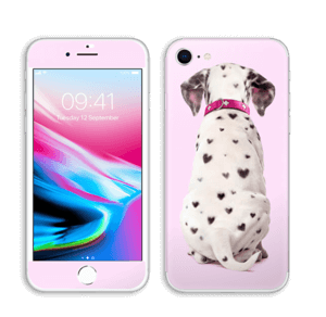 Söpis dalmatialainen tarrakuori IPhone 8