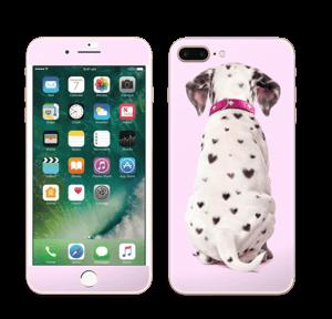 Söpis dalmatialainen tarrakuori IPhone 7 Plus