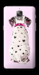 Söpis dalmatialainen tarrakuori OnePlus 3T