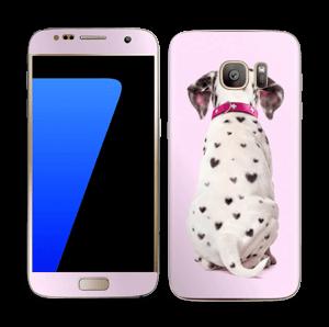 Söpis dalmatialainen tarrakuori Galaxy S7