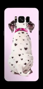 Söpis dalmatialainen tarrakuori Galaxy S8