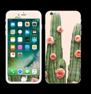 Kukkiva kaktus tarrakuori IPhone 6 Plus