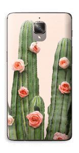 Kukkiva kaktus tarrakuori OnePlus 3T