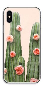 Rosa Kaktus Skin IPhone X