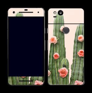 Kukkiva kaktus tarrakuori Pixel 2