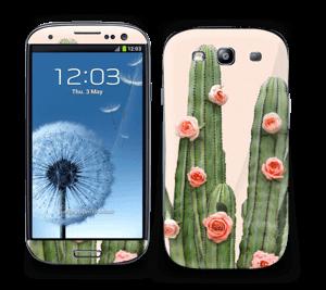 Rosa Kaktus Skin Galaxy S3