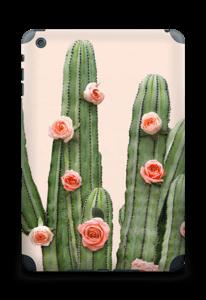 Kukkiva kaktus tarrakuori IPad mini 2 back