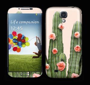 Kukkiva kaktus tarrakuori Galaxy S4