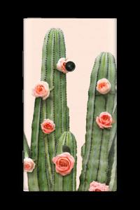 Kukkiva kaktus tarrakuori Nokia Lumia 920
