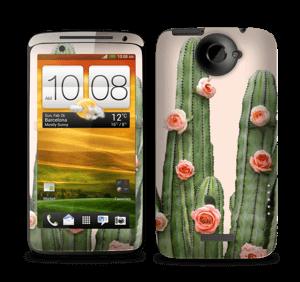Kukkiva kaktus tarrakuori One X