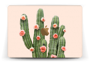 "Kukkiva kaktus tarrakuori MacBook 12"""