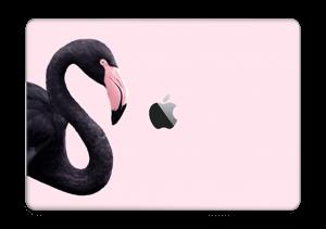 """Flamant rose noir Skin MacBook Pro 13"""" 2016-"""