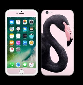 Musta flamingo tarrakuori IPhone 6 Plus