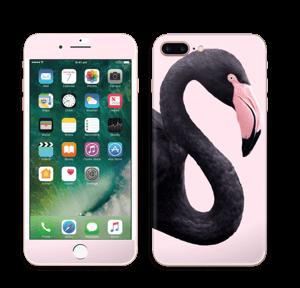 Musta flamingo tarrakuori IPhone 7 Plus