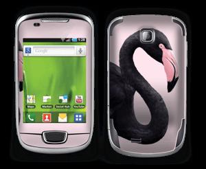 Musta flamingo tarrakuori Galaxy Mini