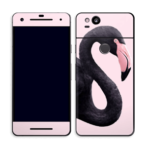 Musta flamingo tarrakuori Pixel 2