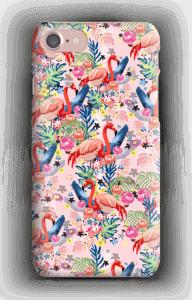 Tropical Flamingo Vibes case IPhone 7