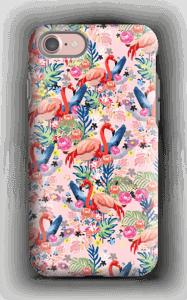 Tropik og flamingoer cover IPhone 7 tough