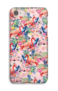 Tropik og flamingoer cover IPhone 8